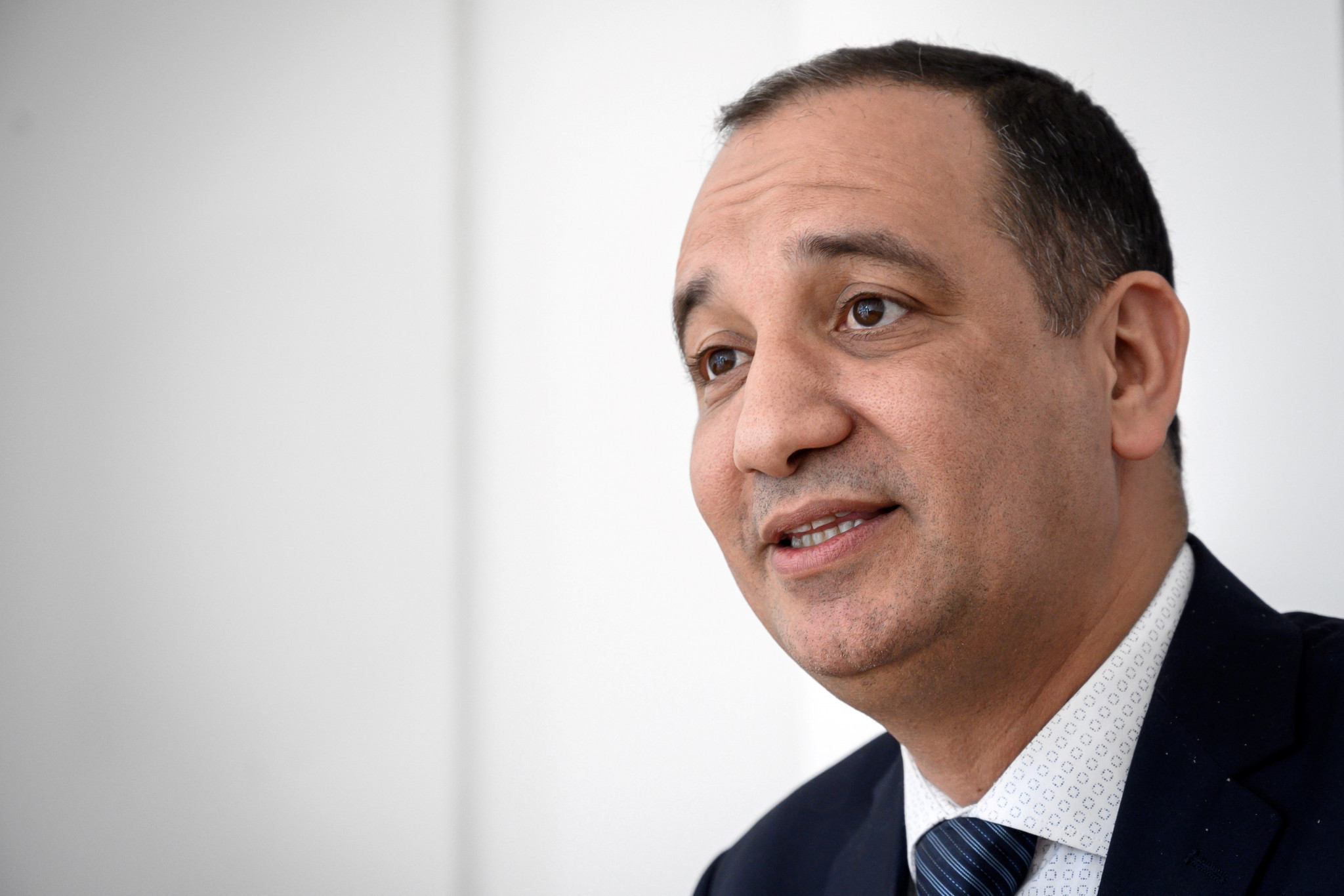 Interim AIBA President Mohamed Moustahsane says the organisation is confident of remaining the Olympic governing body for the sport after leading an eight-person delegation in a meeting with the IOC in Lausanne today ©Getty Images