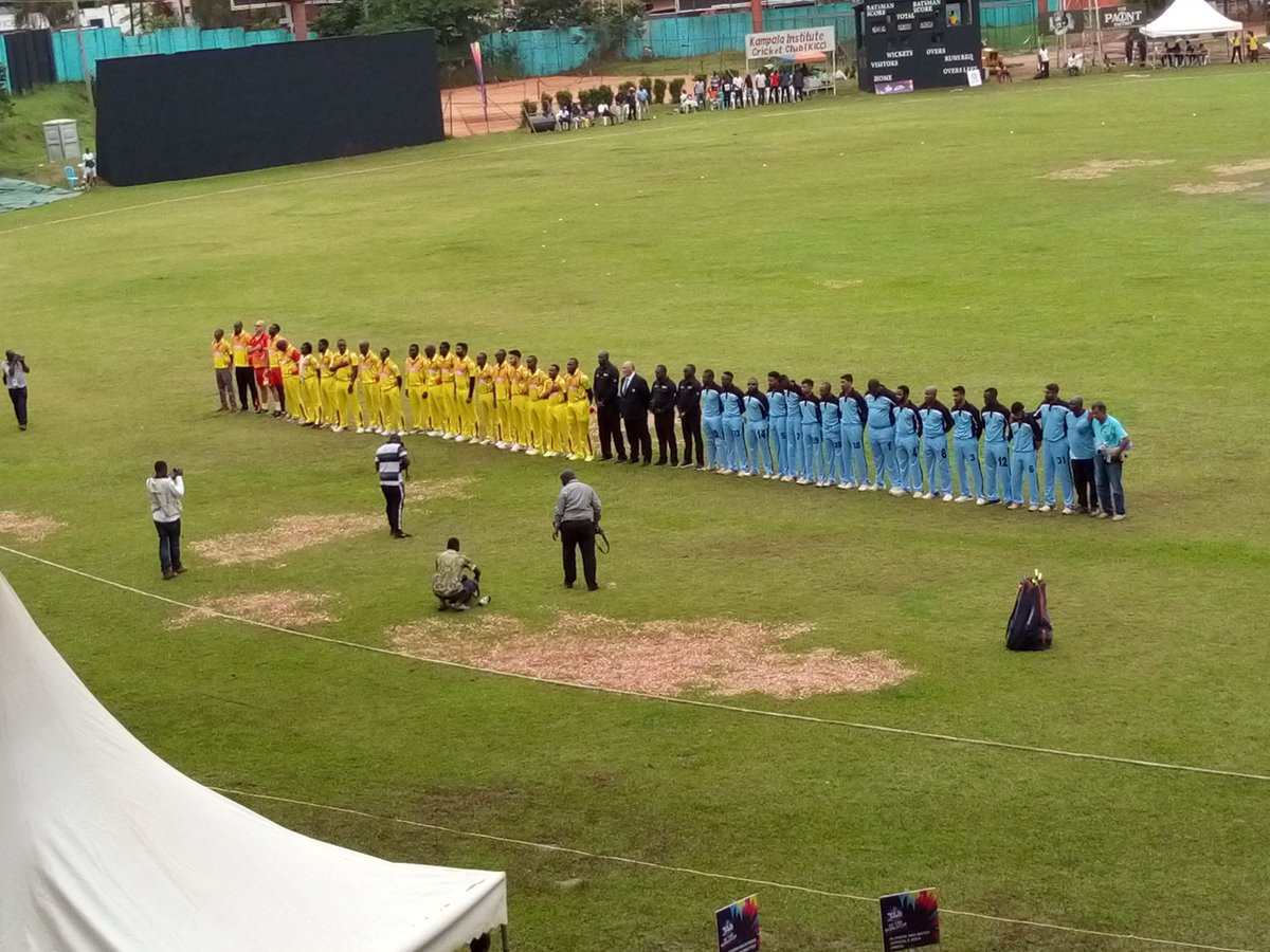 Hosts Uganda begin ICC World Twenty20 Africa Qualifier and Regional Finals with victory