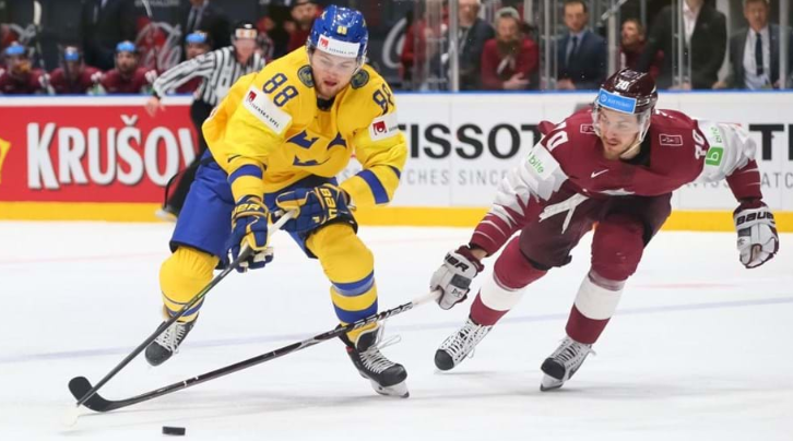 Sweden beat Latvia to reach the quarter-finals of the IIHF World Championships ©IIHF