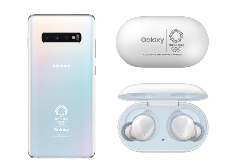 Samsung has released a limited Galaxy S10+ Olympic Games edition model in Japan ©Samsung