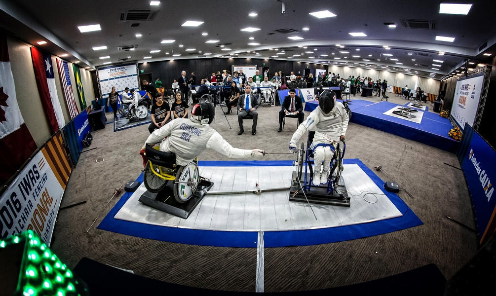 The event in São Paulo will be the third IWAS Wheelchair Fencing World Cup of 2019 ©IWAS