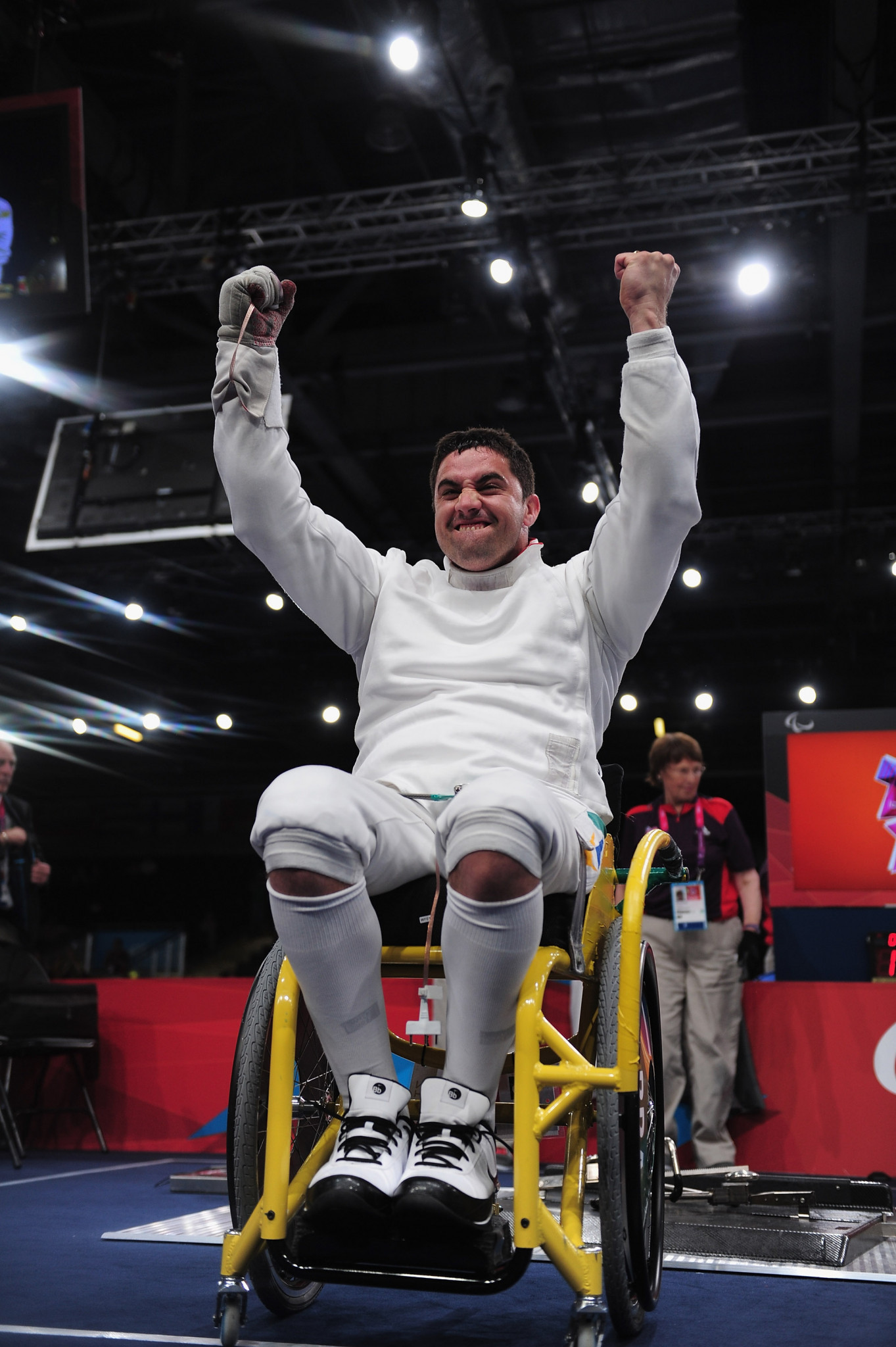 Brazil's Guissone geared-up for home IWAS Wheelchair Fencing World Cup in São Paulo