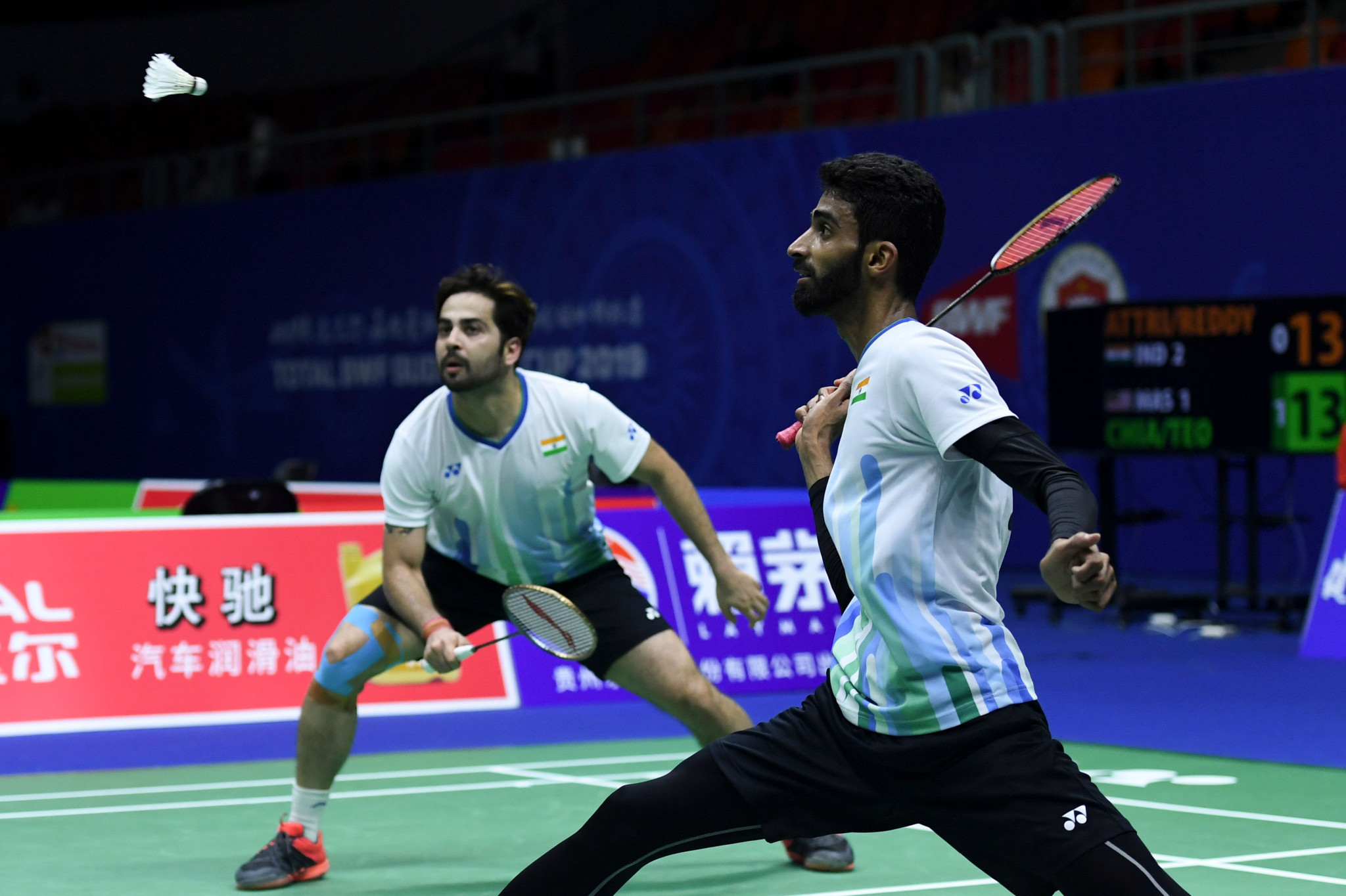 India will need to beat China if they are to reach the quarter-finals of the Sudirman Cup ©Getty Images
