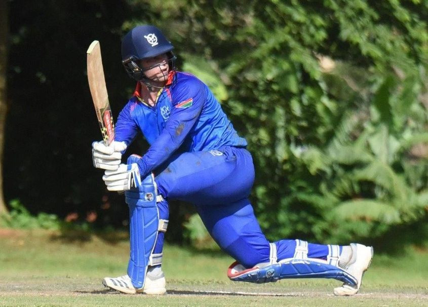 Namibia overcame hosts Uganda to record their second victory at the World Twenty20 Africa Qualifier and Regional Finals in Kampala ©ICC