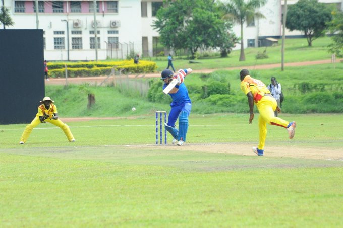 Nambia claimed a 42-run win over Uganda to maintain their 100 per cent star to the tournament ©ICC Africa