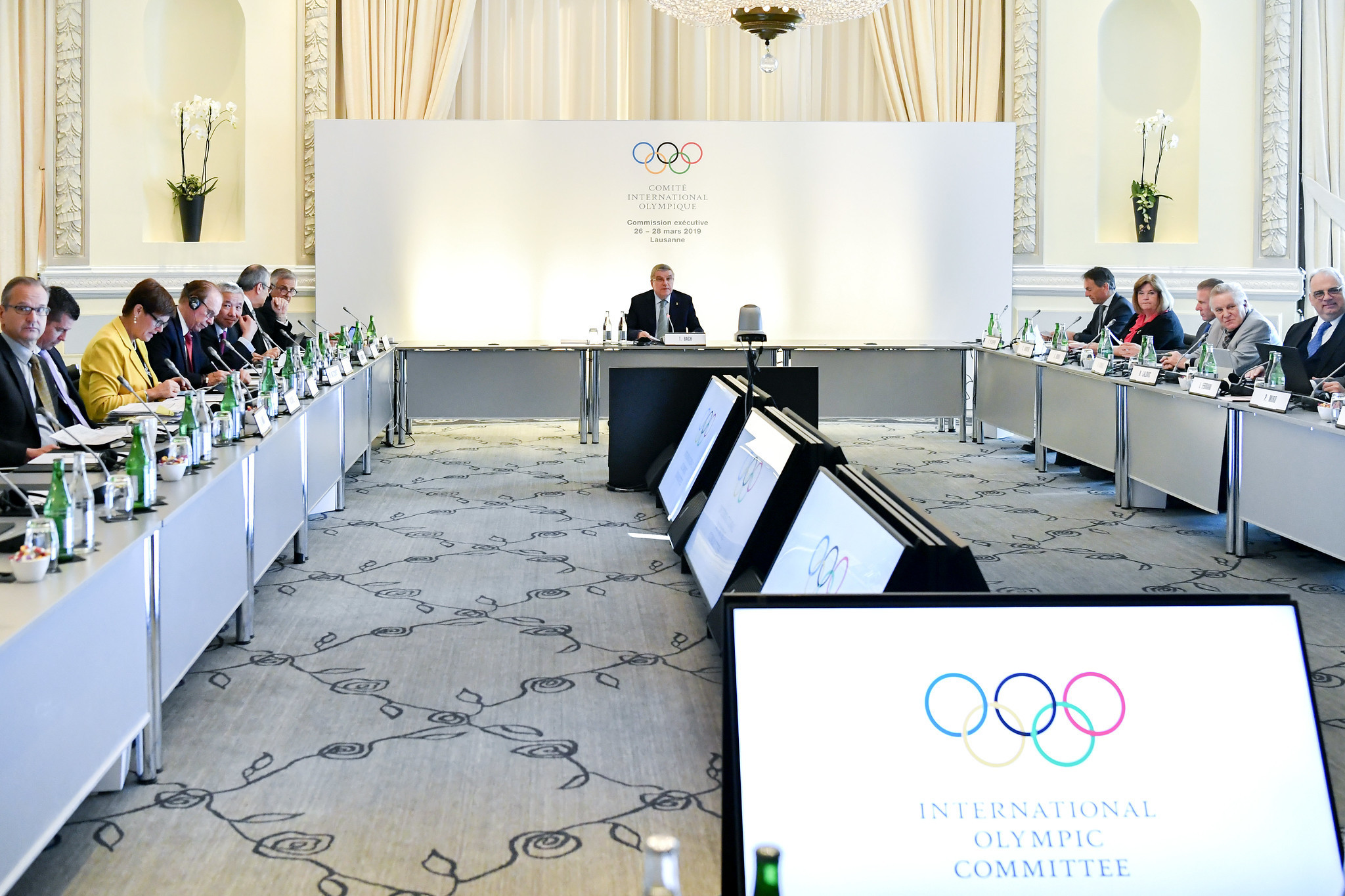 The IOC Executive Board is due to meet in Lausanne tomorrow ©IOC