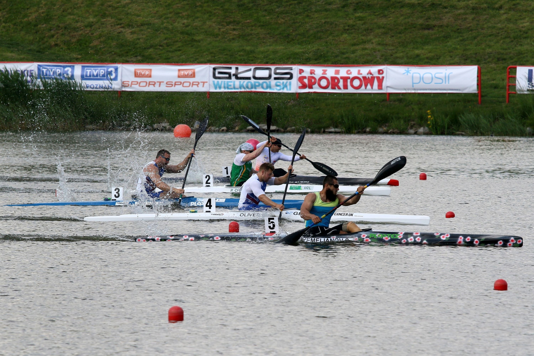 Ukraine enjoy successful day at Paracanoe European Championships