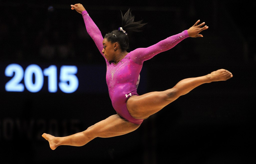 Medallists such as Simone Biles are now set to earn 50 per cent more for their achievements ©Getty Images