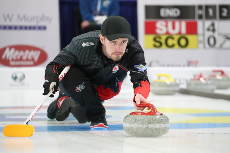The World Junior Curling Championships were part of the qualification process ©WCF