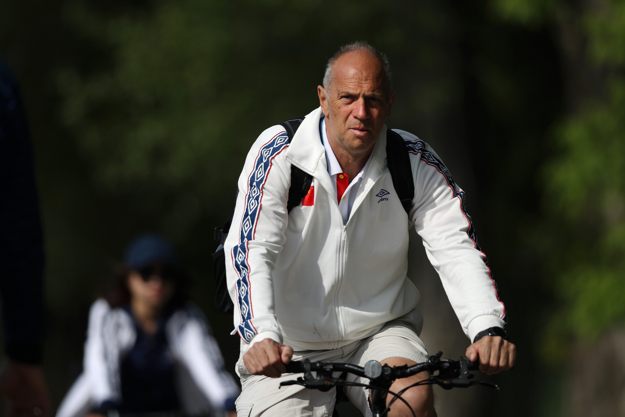 Britain's Sir Steve Redgrave became China's high performance director last year ©Getty Images