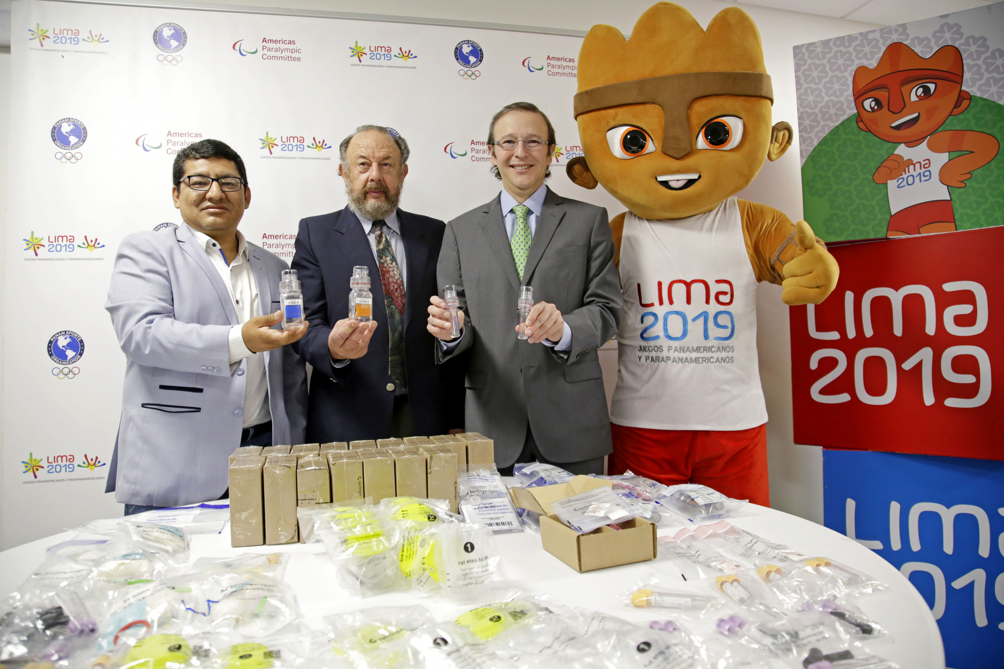 Lima 2019 organisers have unveiled their anti-doping operation ©Lima 2019