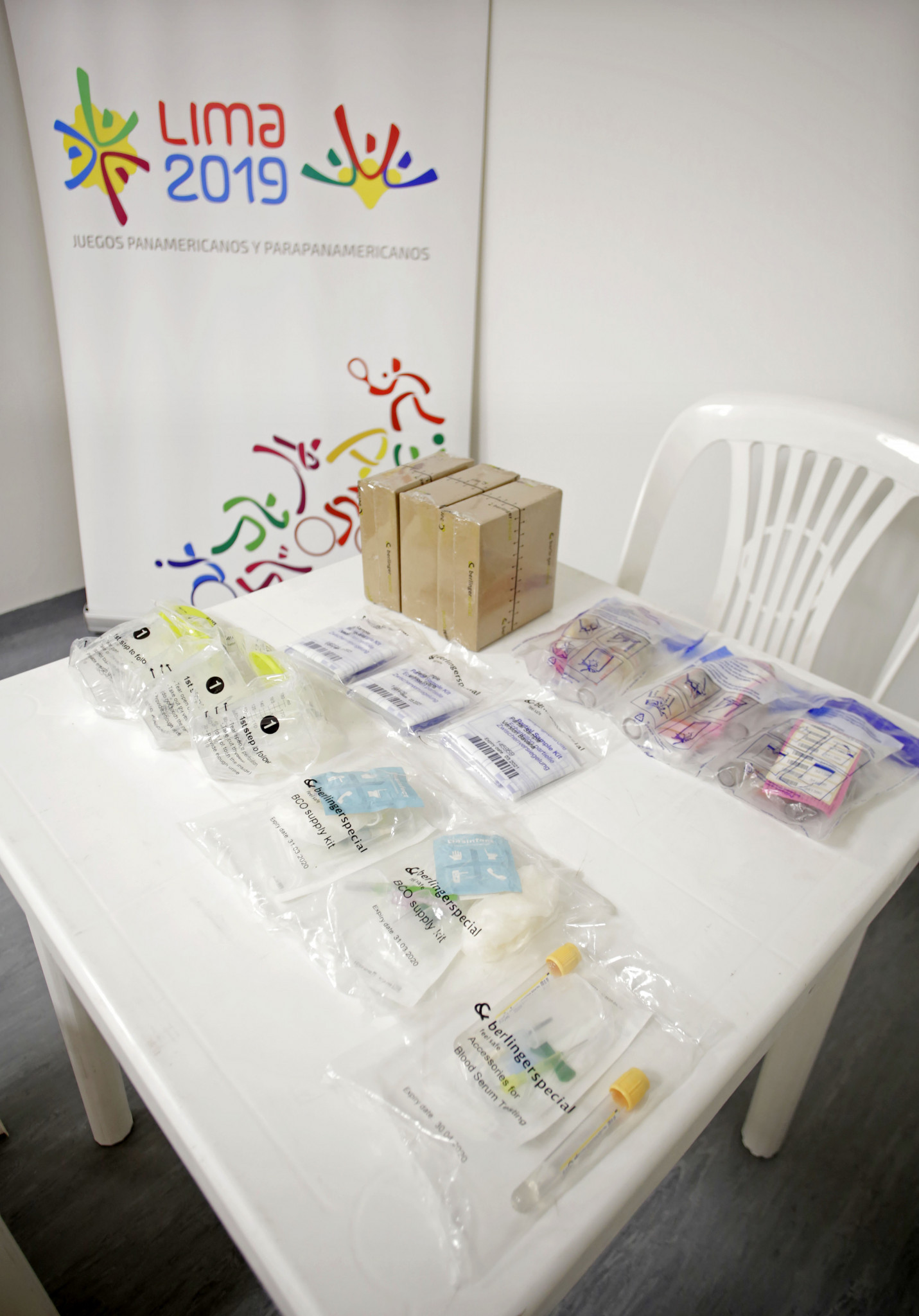 Lima 2019 organisers have revealed there will be a total of 32 doping control stations collecting samples during this year's Pan American and Parapan Games ©Lima 2019