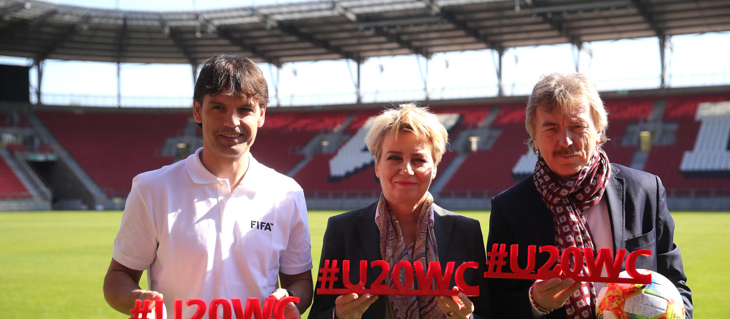 The FIFA under-20 World Cup is set to begin in Poland ©FIFA