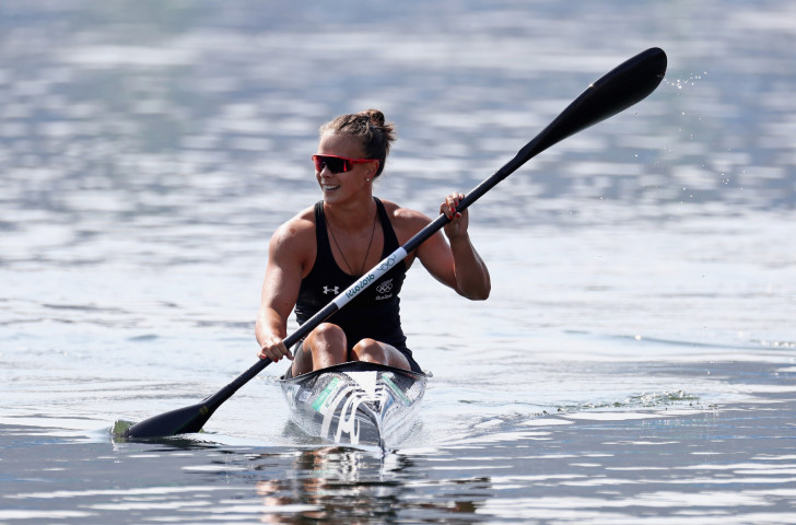New Zealand's double Olympic champion Lisa Carrington will seek to maintain her domination of the K1 200m event at the ICF Canoe Sprint World Cup that starts in Poznań tomorrow ©Getty Images