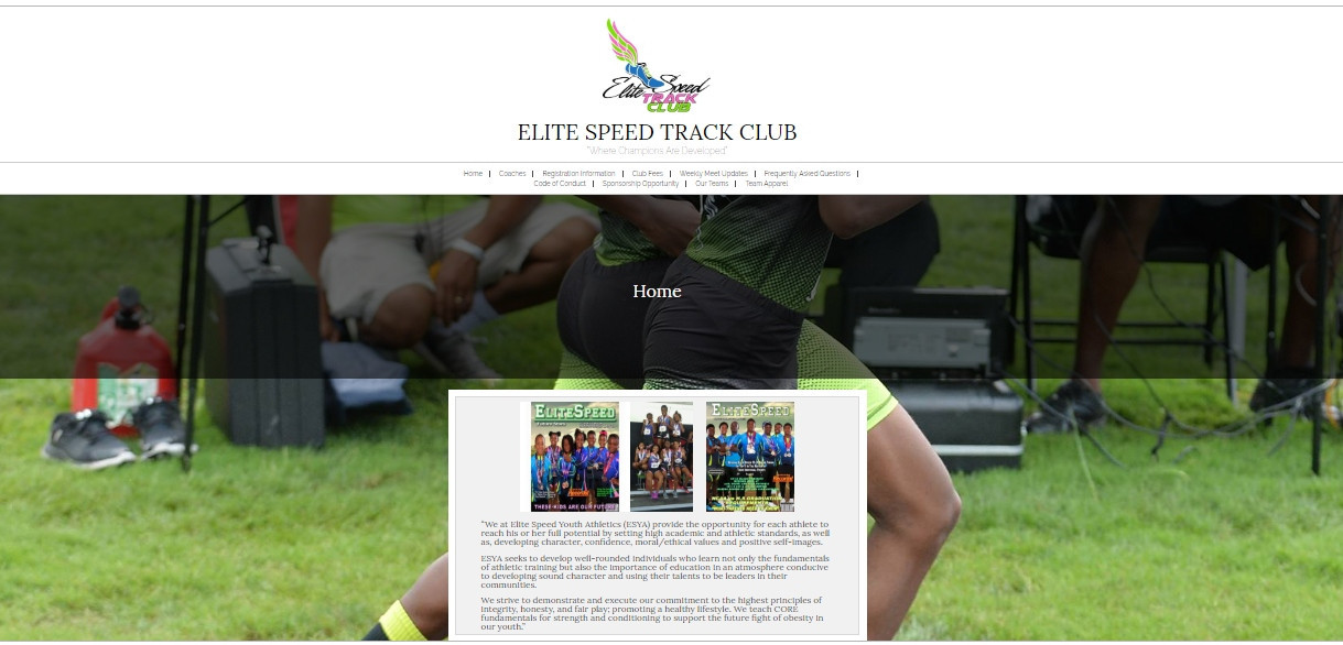 Two-time Olympic gold medallist Angelo Taylor had been coaching at the Elite Speed Summer Track Club for more than two years, despite having been arrested twice in 2005 for child molestation ©Elite Speed Summer Track Club