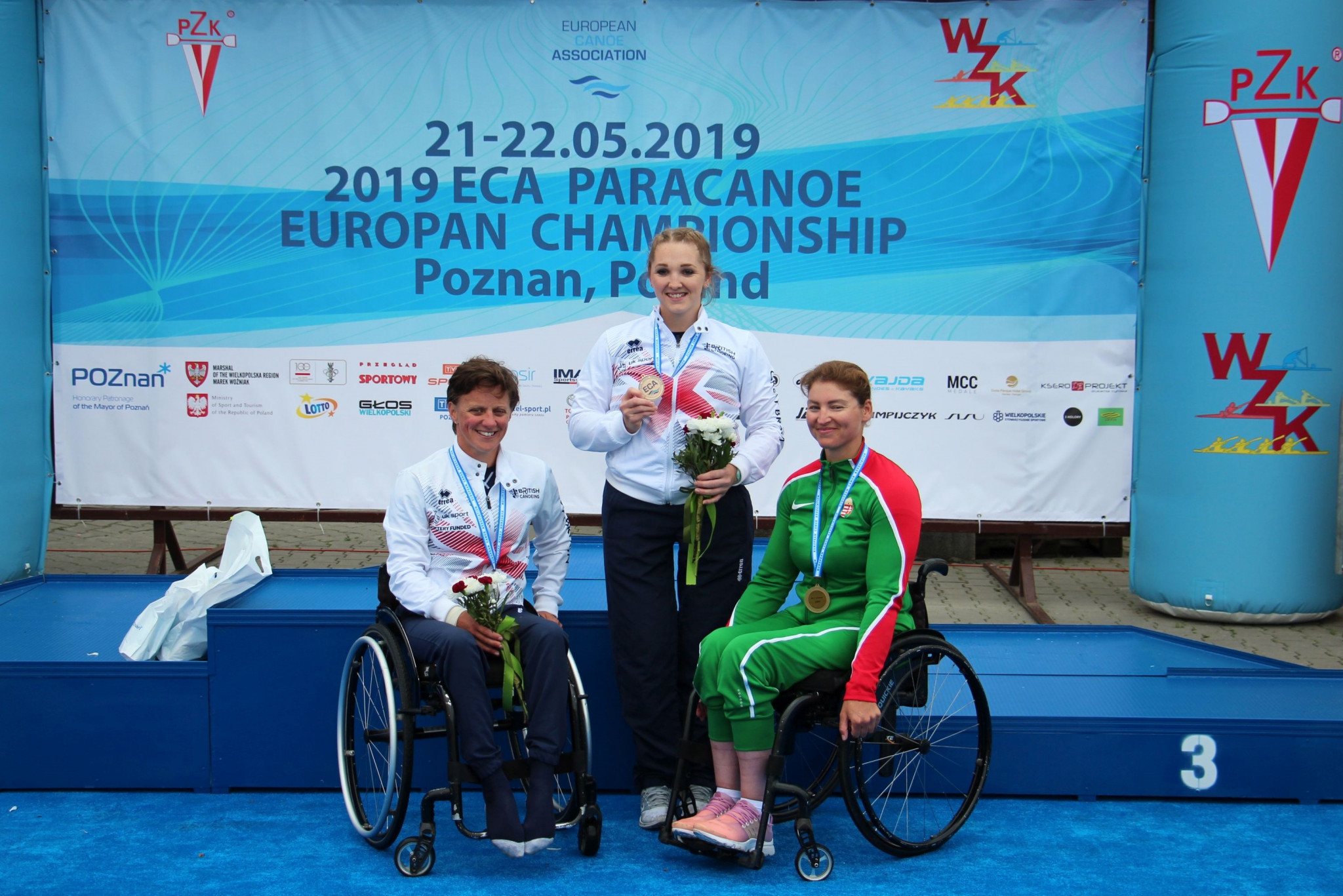 Six medals for Great Britain on final day of Paracanoe European Championships