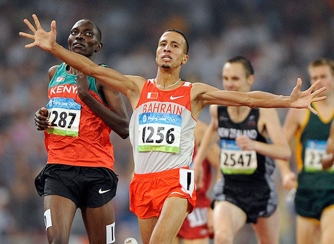 Bahrain's Moroccan-born Rashid Ramzi was stripped of the Olympic gold medal he won in the 1,500m at Beijing 2008 after testing positive for banned drugs ©Getty Images