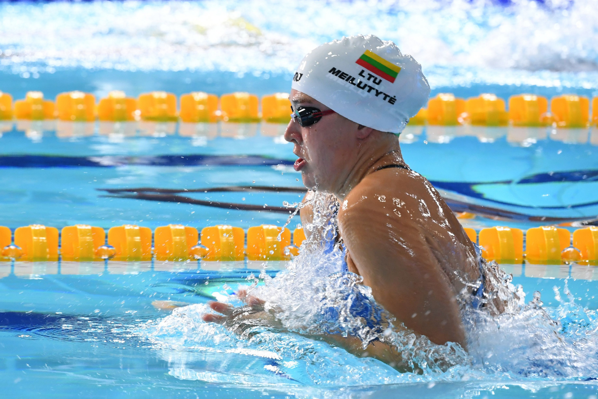 Lithuania's Olympic 100 metres breaststroke gold medallist Rūta Meilutytė has announced her retirement from swimming at the age of 22 ©Getty Images