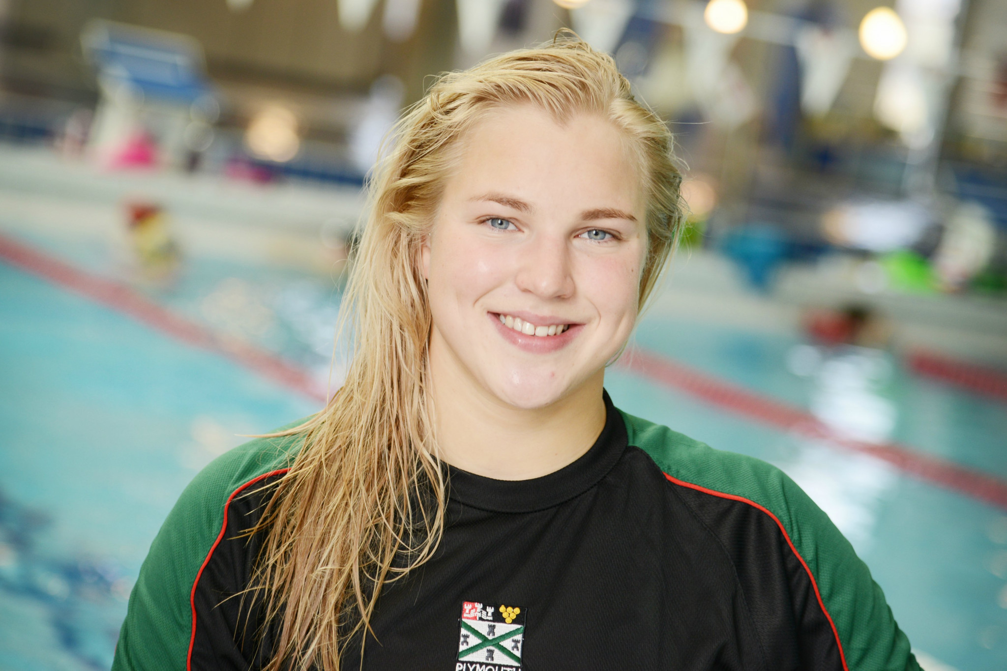Rūta Meilutytė was a student at Plymouth College in the United Kingdom when she won her Olympic gold medal in the 100m breaststroke at London 2012 ©Plymouth College