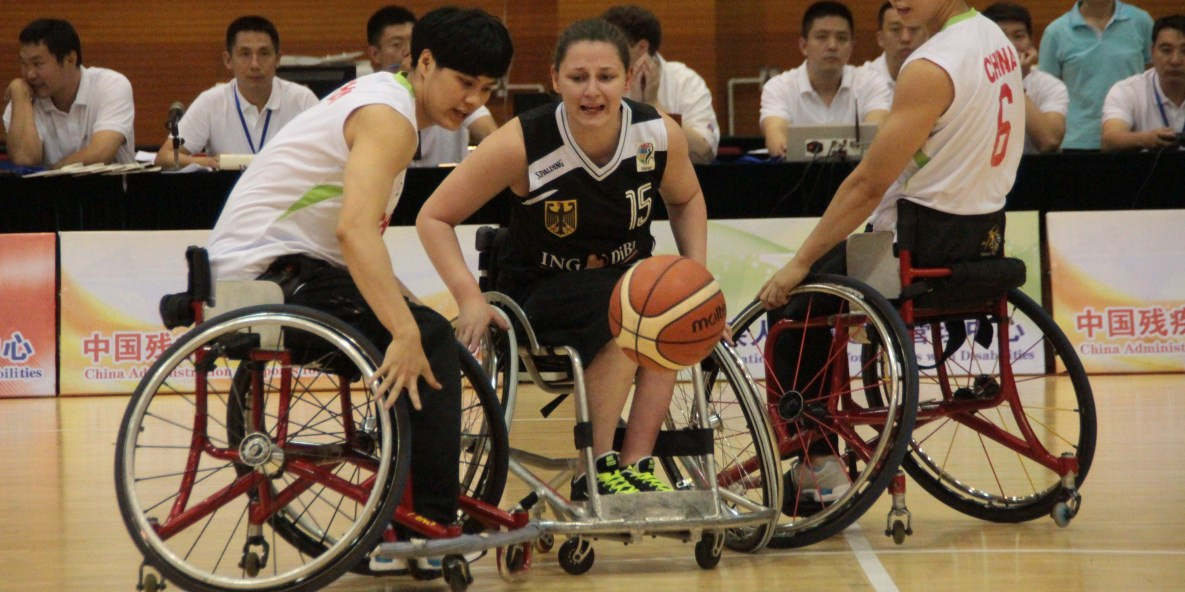 Germany are one of the four teams in Pool B ©IWBF