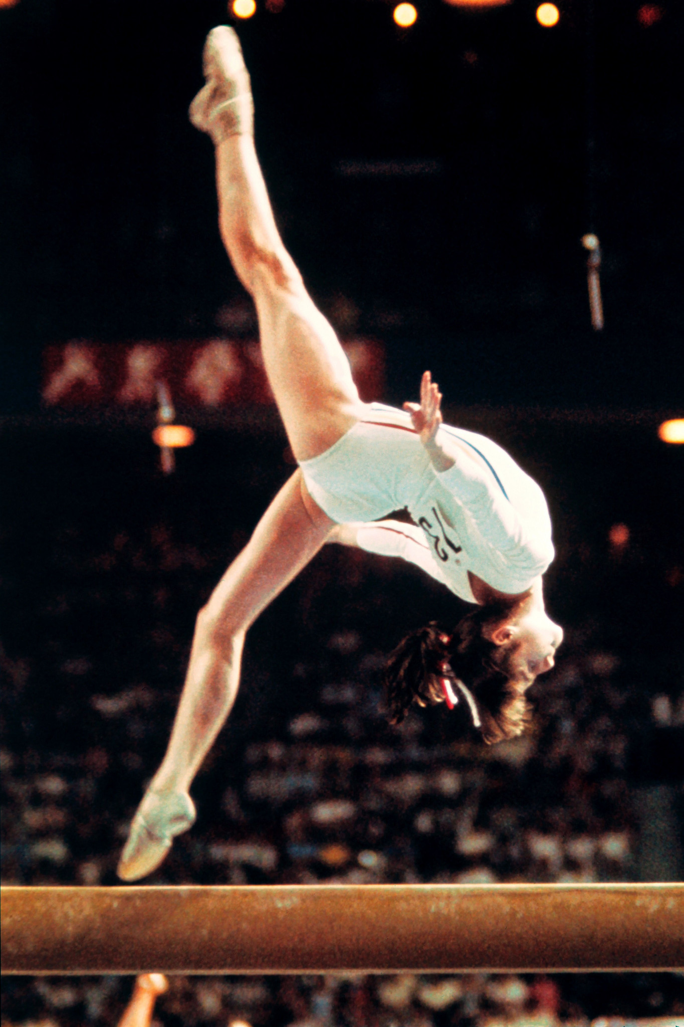The Montreal Forum was the scene of Nadia Comăneci's astonishing performance at the 1976 Olympics when she won three gold medals and was awarded a perfect 10 five times ©Getty Images