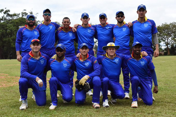 Namibia moved a step closer to securing a place in the top two at the event in Uganda ©Twitter