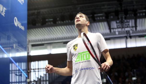 World number one Farag powers past ElShorbagy to reach PSA British Open quarter-finals