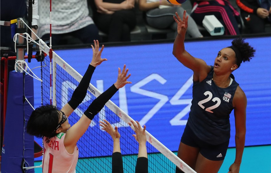 Holders United States continue perfect start to FIVB Women's Nations League
