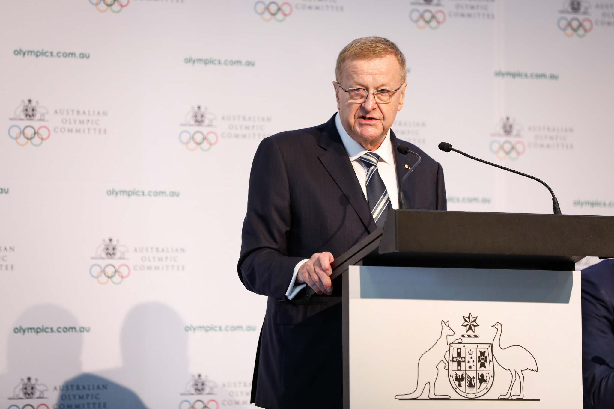 Australian Olympic Committee President John Coates will stay on as an IOC member beyond the age limit of 70 due to his importance to the organisation ©Getty Images