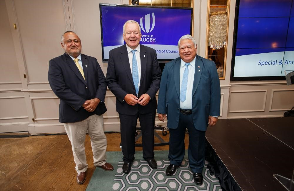 Fiji and Samoa attended their first World Rugby Council meeting ©World Rugby