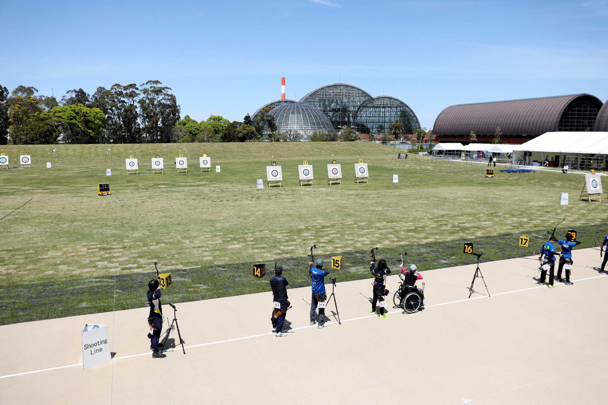 The venue is aimed as hosting archery events and being a public space after the Games ©Tokyo 2020