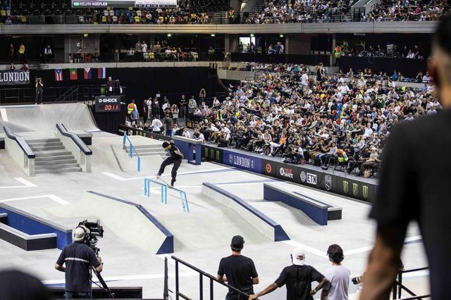 The World Skate SLS Tour event will take place at the Copper Box Arena in London ©World Skate