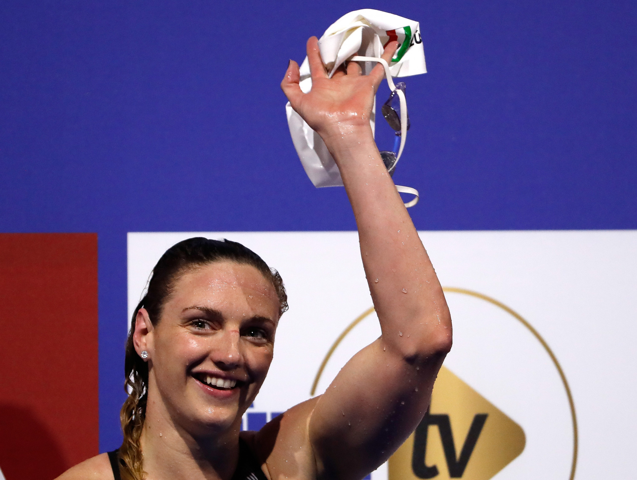 Hungary's triple Olympic champion Katinka Hosszú wants the newly formed International Swimming League to help promote swimmers so they can make a living from the sport @Getty Images