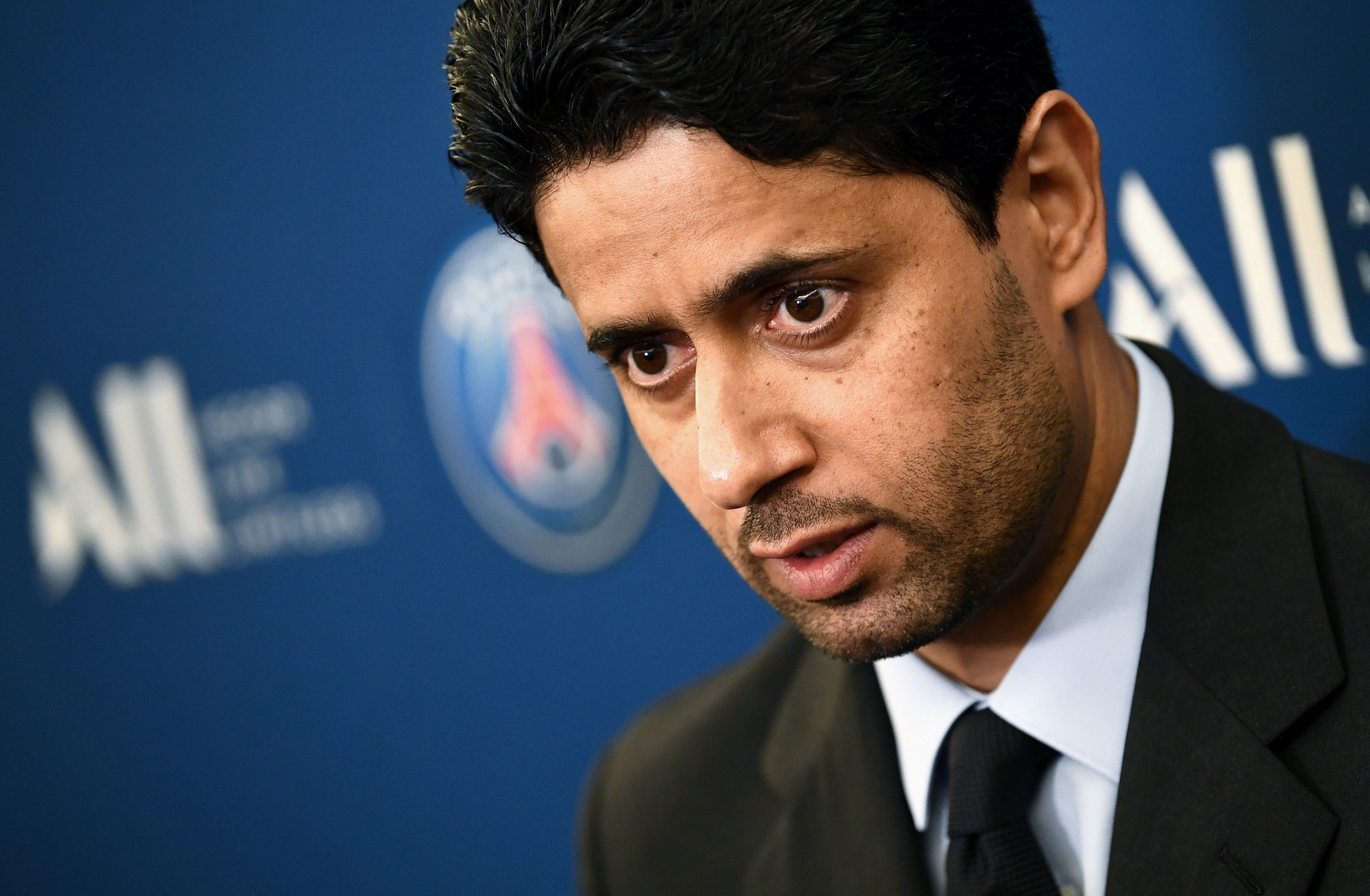 Paris Saint-Germain President Nasser Al-Khelaïfi, one of the most powerful men in sport, has been charged with corruption over the bidding process for the 2019 IAAF World Championships in Doha, according to judicial sources ©Getty Images