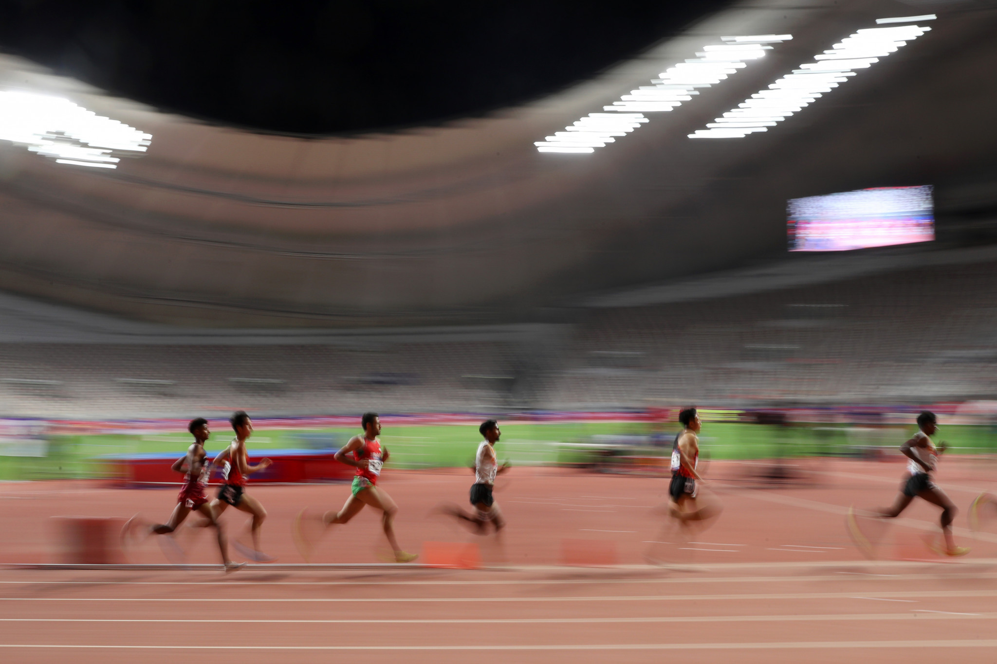 Khalifa International Stadium will host the 2019 IAAF World Championships in Doha ©Getty Images