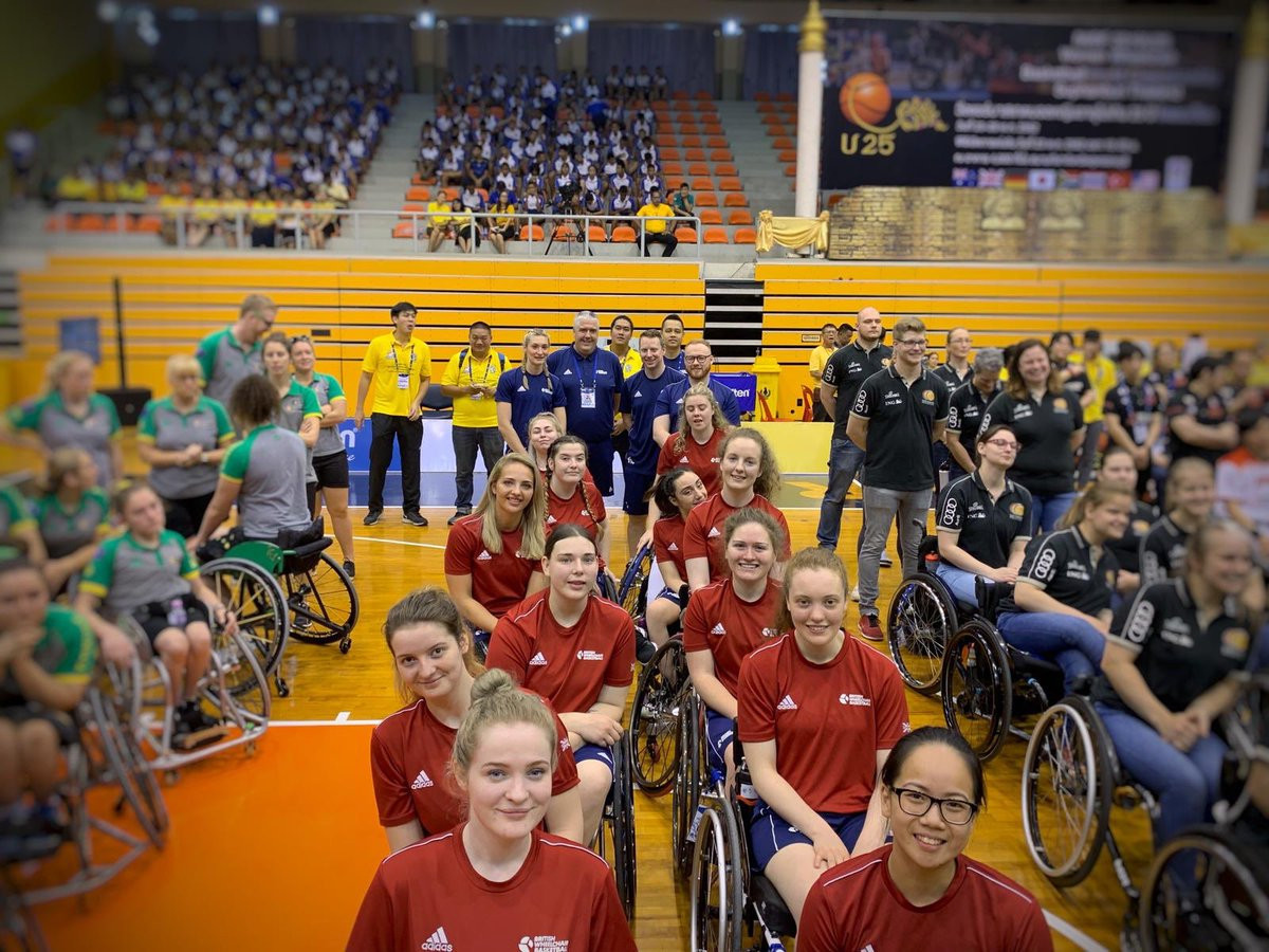 Holders Great Britain make winning start to IWBF Women's Under-25 World Championships