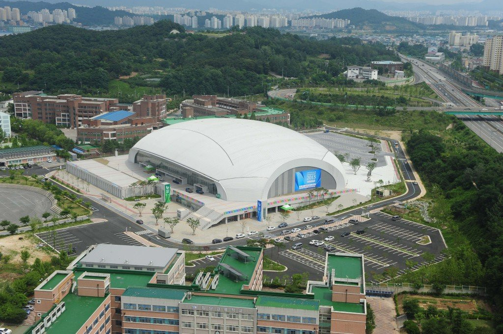The 2019 FINA World Championships are taking place in the South Korean city of Gwangju ©British Swimming