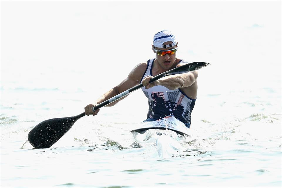 Britian's Liam Heath dominated in the men's K1 200m at the ICF Canoe Sprint World Cup ©Team GB
