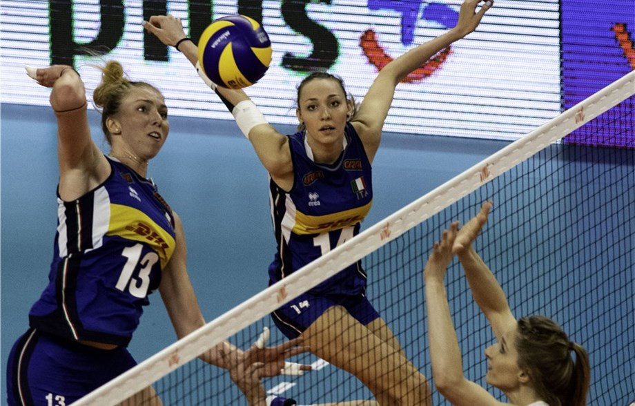 Italy complete perfect Pool One campaign in FIVB Women's Nations League