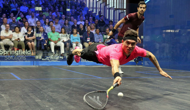 Defending champion Rodríguez continues run at PSA British Open after thrilling battle with Salazar