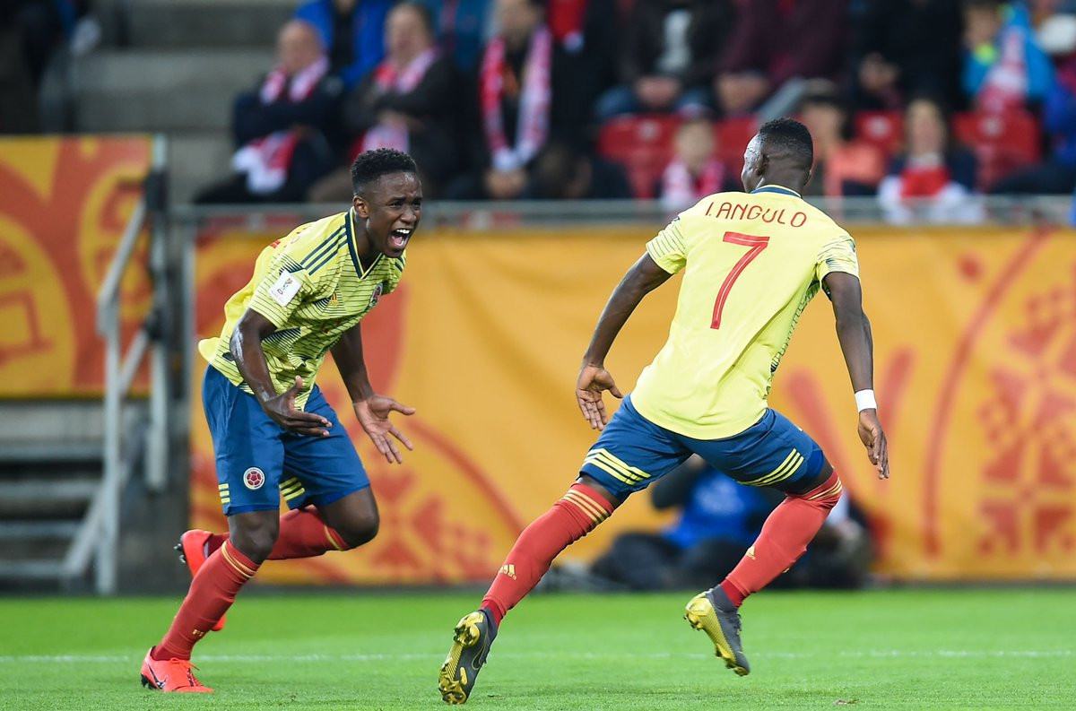 Colombia defeated Poland in their opening match of the FIFA Under-20 World Cup ©FIFA