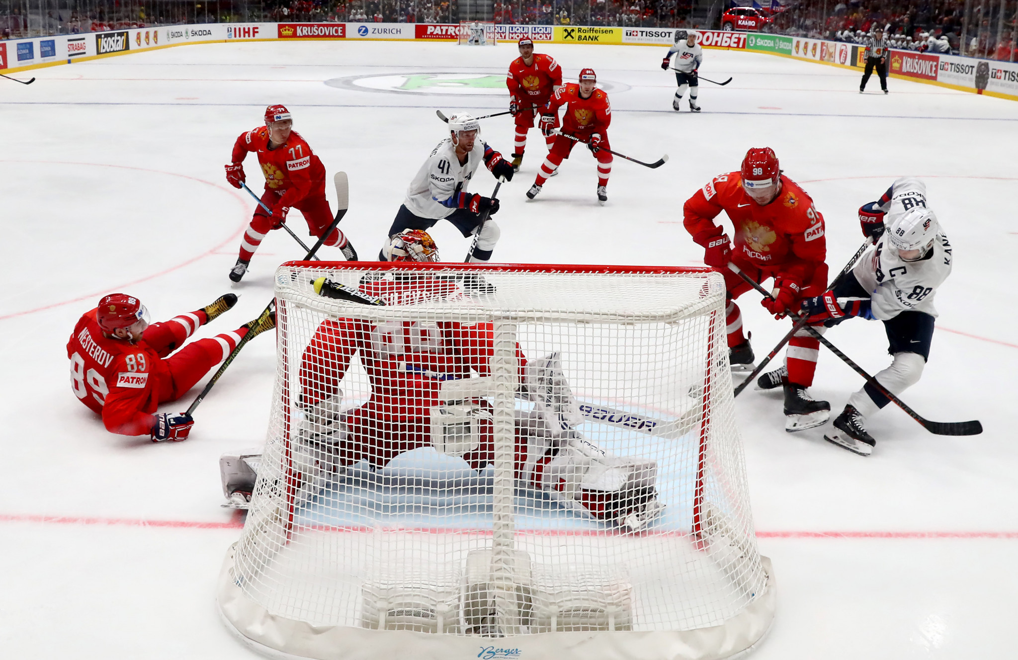 Russia defeated the United States in the IIHF World Championships ©Getty Images