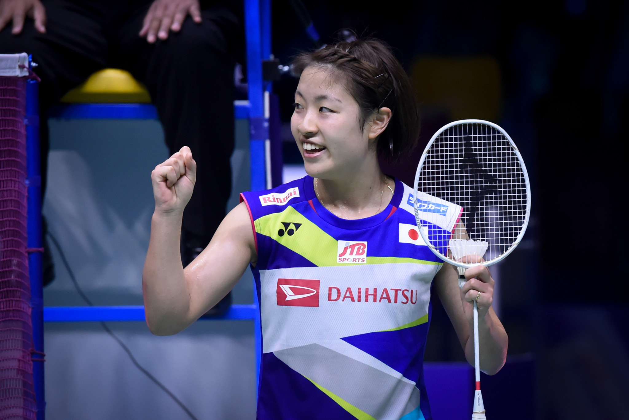 Japan and Indonesia reach last four at Sudirman Cup as Malaysian suffers freak injury