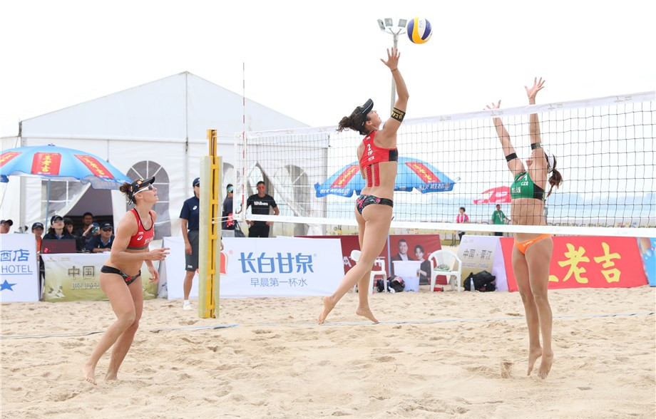 Spanish duo defeat top seeds at FIVB Jinjiang Open