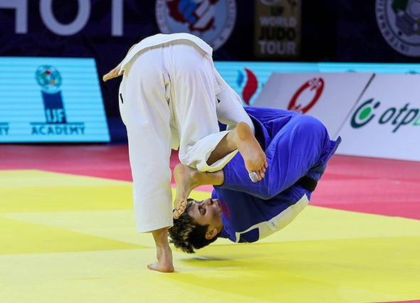 World champion Abe makes winning return at IJF Grand Prix in Hohhot
