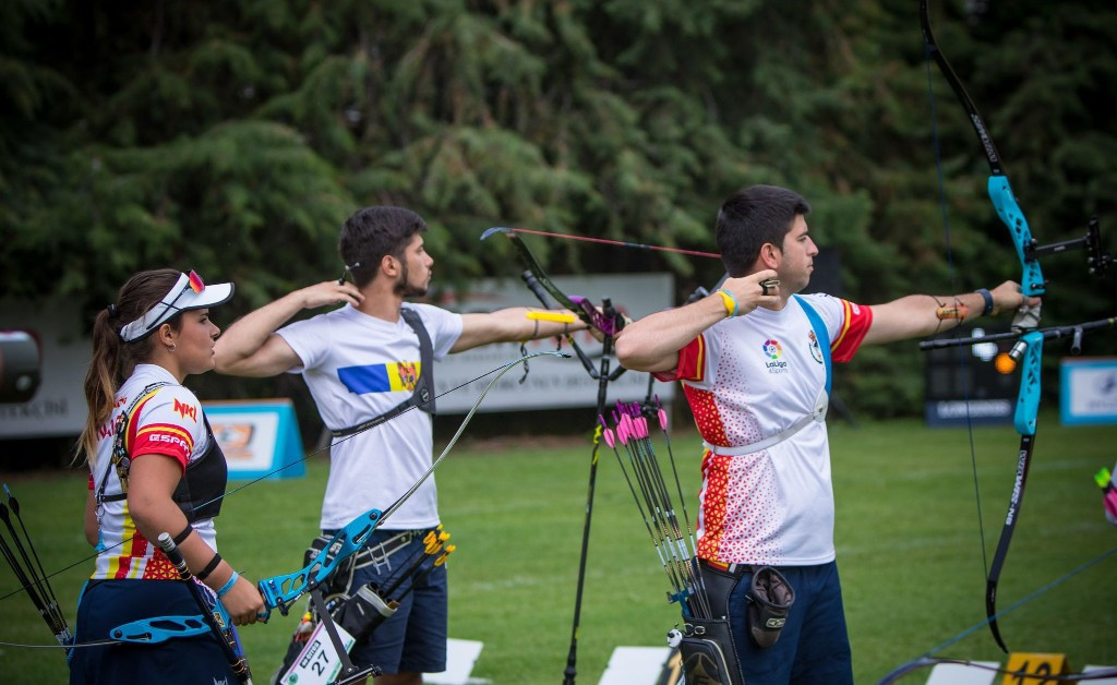 Spain impress to reach mixed team recurve final at Archery World Cup