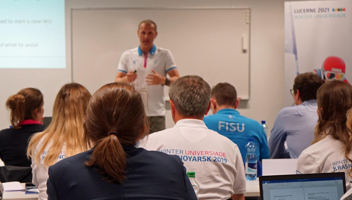 FISU holds Krasnoyarsk 2019 debrief to aid future organisers Lucerne 2021