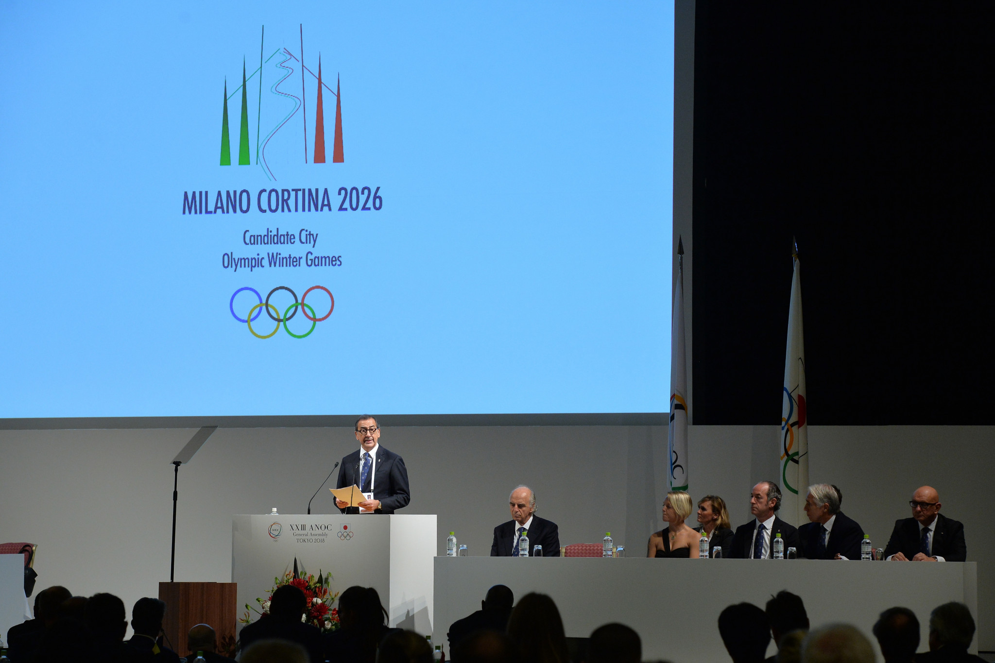 Should Milan-Cortina be awarded the 2026 Winter Olympics and Paralympics, Italy intends to enact an Olympic Law by the end of 2019 ©Getty Images