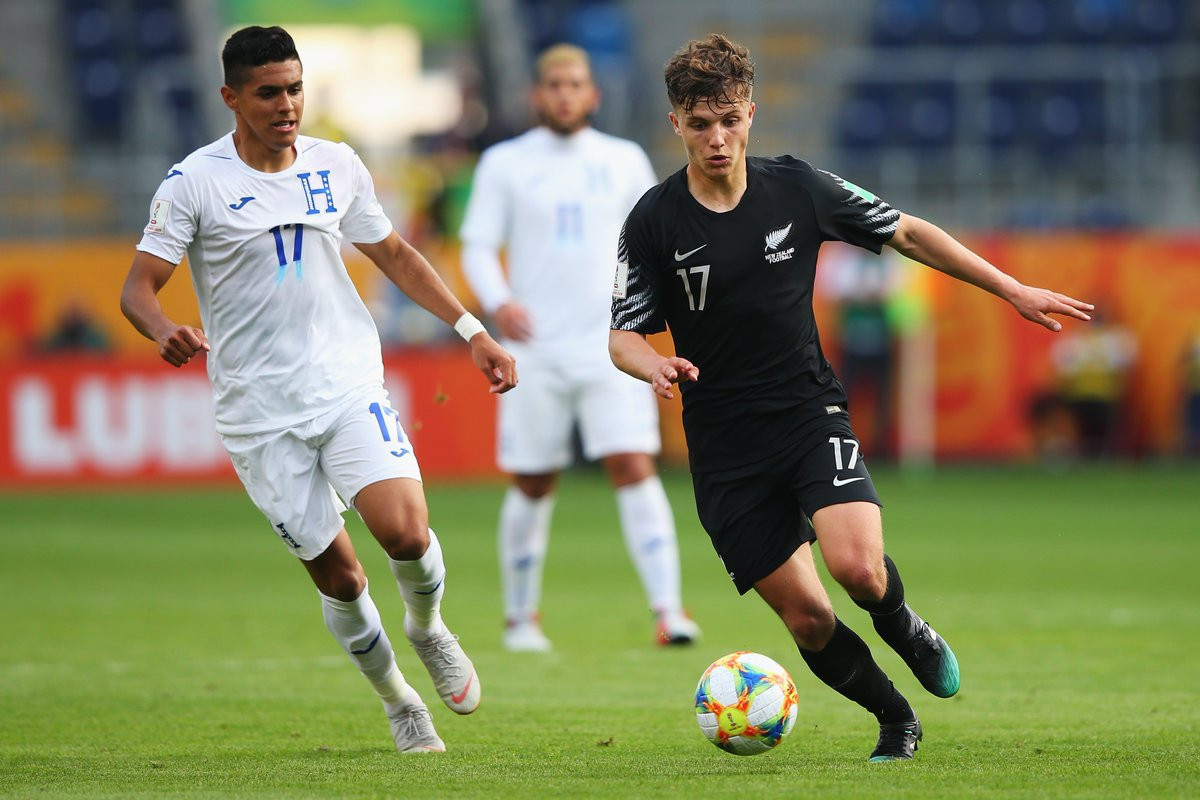 New Zealand overwhelmed Honduras at the FIFA Under-20 World Cup ©Twitter