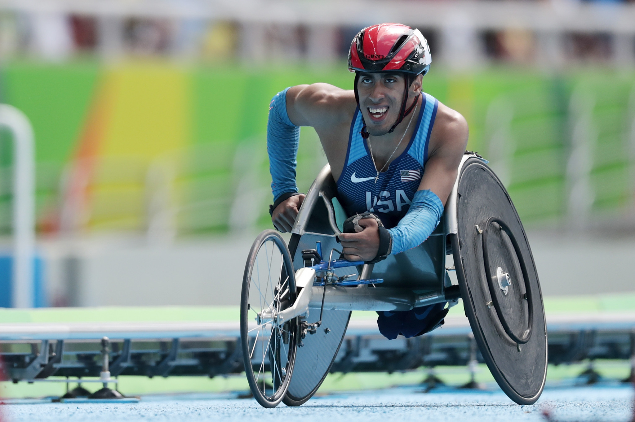 Paralympic gold medallist Gianfranco Iannotta also delivered gold for the host nation on the opening day in Arizona ©Getty Images